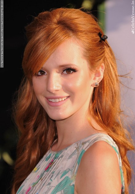 Bella Thorne At The Odd Life Of Timothy Green Premiere Aug