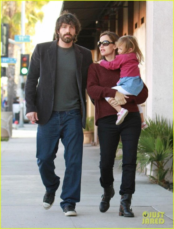 Jennifer Garner Ben Affleck Huckleberry And Jennifer Garner