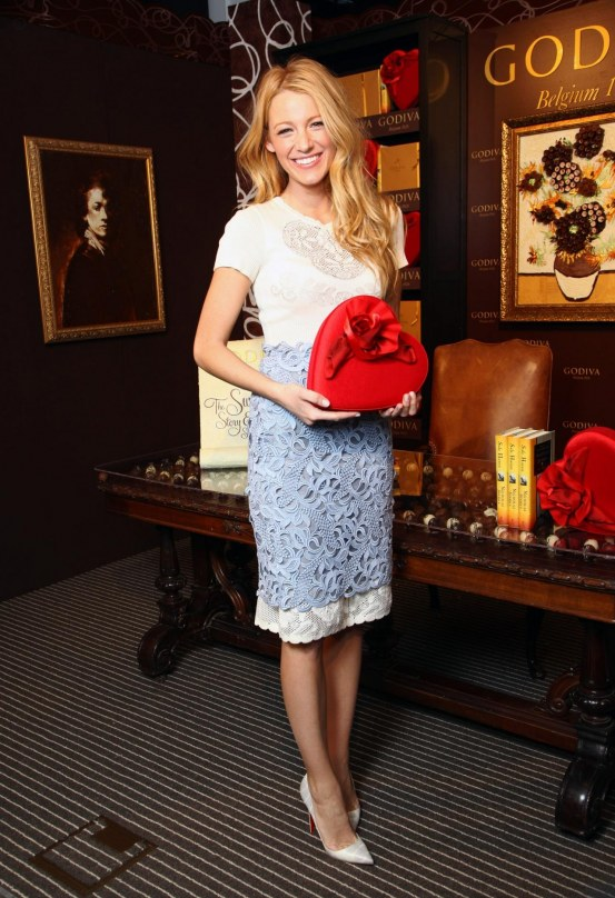 Blake Lively At Godiva Event