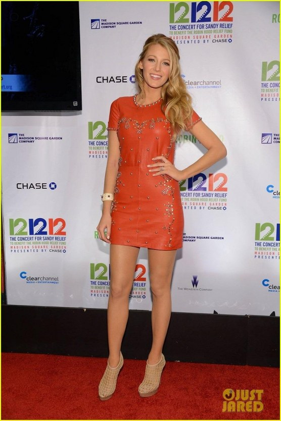 Blake Lively Katie Holmes Concert For Sandy Relief