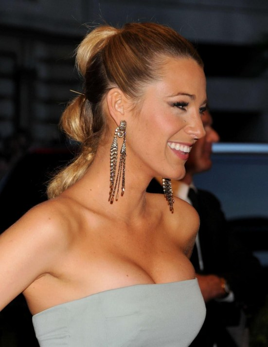 Blake Lively Met Gala At The Metropolitan Museum Of Art