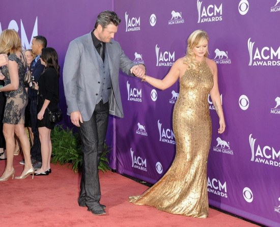 Miranda Lambert Blake Shelton Th Annual Opj Va Ex Country Music Awards