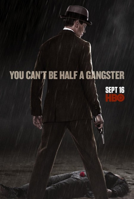 Boardwalk Empire Season Poster You Can Be Half Gangster