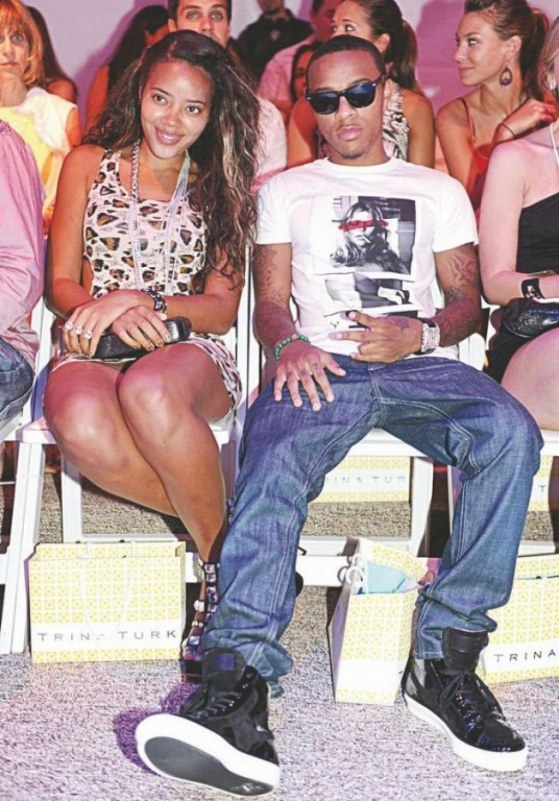 Bow Wow And Angela Simmons At Trina Turk Like Mike