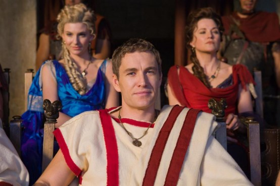Picture Of Lucy Lawless Brett Tucker And Viva Bianca In Spartacus War Of The Damned Large Picture