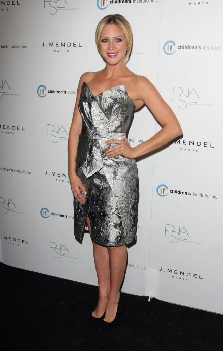 Brittany Snow Attends The Rd Annual Autumn Party On October In West Hollywood Body