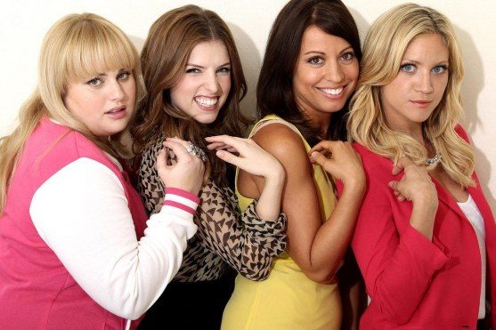 Rebel Wilson Anna Kendrick Kay Cannon Brittany Snow Pitch Perfect