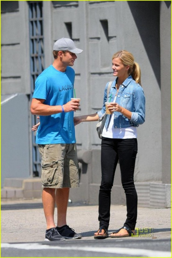 Andy Roddick Brooklyn Decker Coffee Andy Roddick