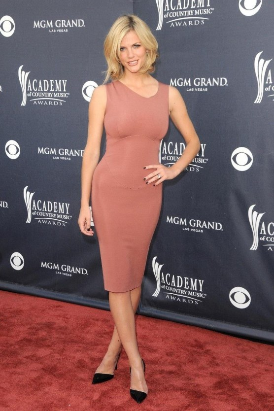 Brooklyn Decker Skin Tight Dress At Th Annual Academy Of Country Music Awards Dress
