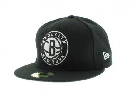 Brooklyn Nets Team Colors The Playoffs Fitted Fifty New Era Cap