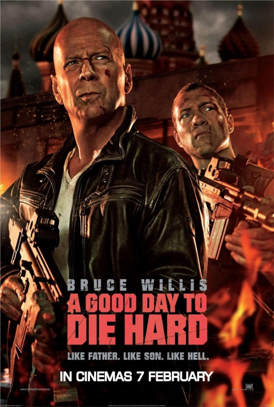 Good Day To Die Hard Film Movie Poster Large Body