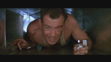 John Mcclane Zippo Lighter Die Hard Blu Ray Cap Die Hard