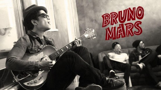 Bruno Mars With Guitar Wallpaper