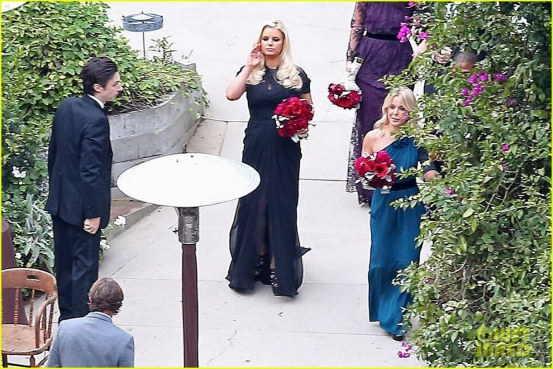 Jessica At Her Bff And Former Assistant Cacee Cobb Wedding December Jessica Simpson Wallpaper