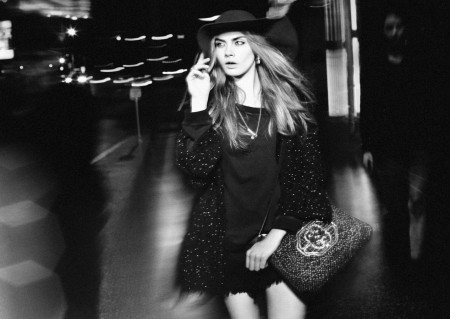 Cara Delevingne Zara Fall Winter