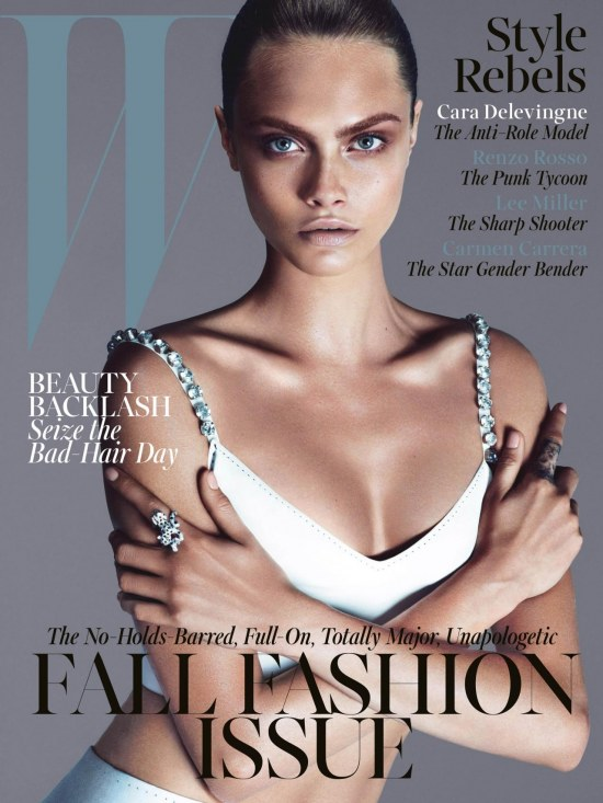 Cear Cara Delevingne Model Cover Story Coverlines