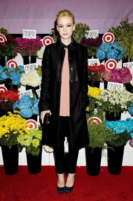 Carey Mulligan At Prabal Gurung For Target Launch Event In New York