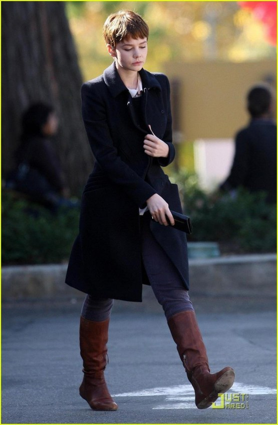 Shia Labeouf Carey Mulligan Hang In Hollywood Shia