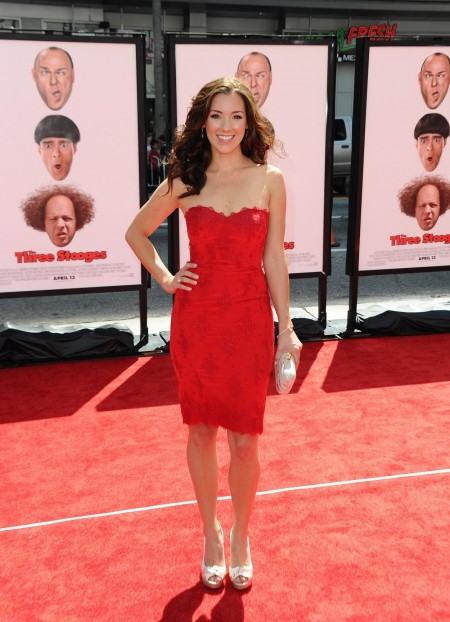 Carly Craig At The Three Stooges Premiere