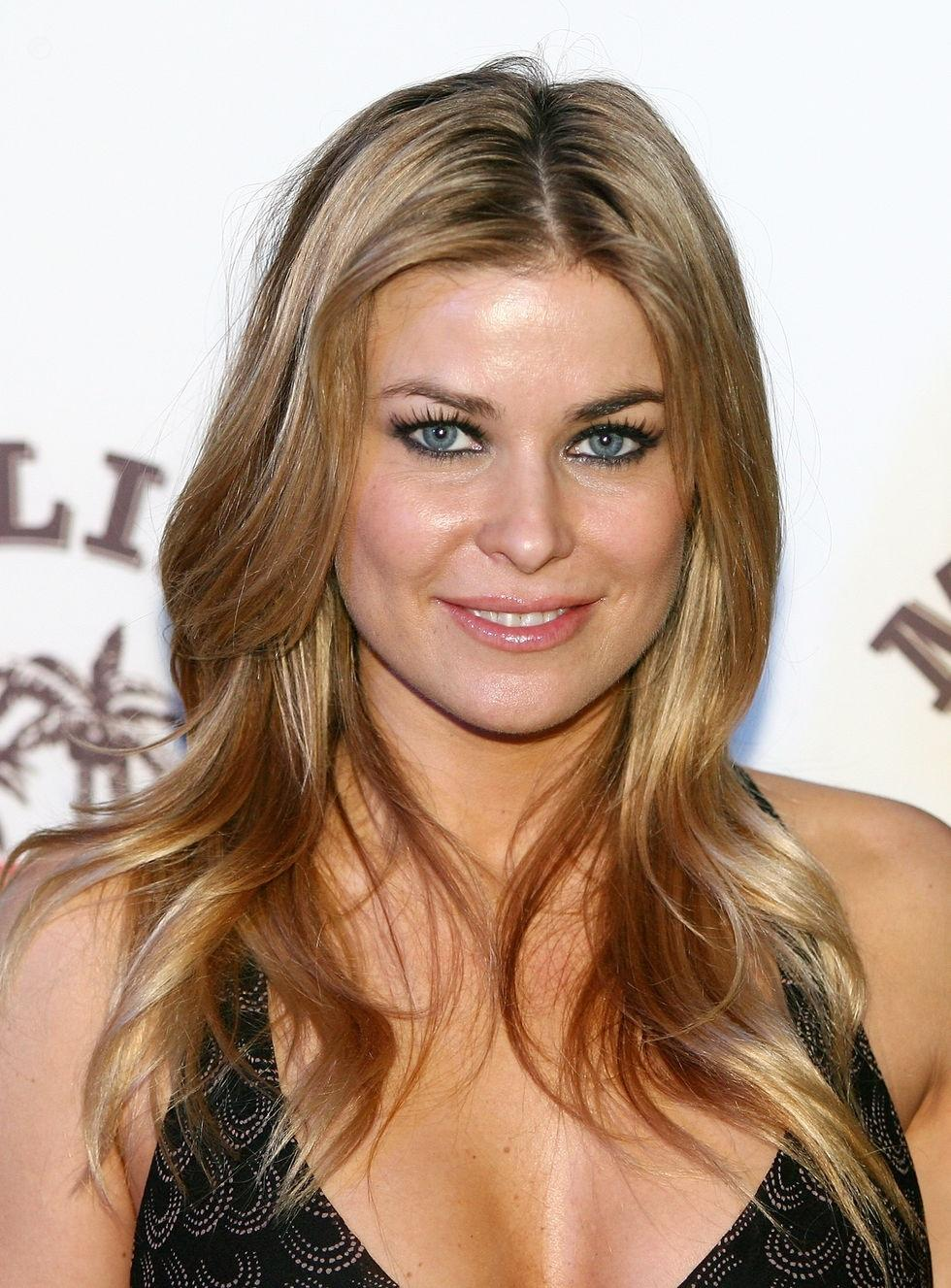Carmen Electra Hosts Winter Beach Bash Beach