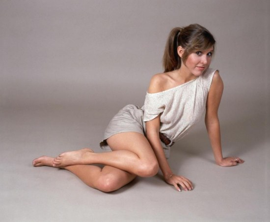 Carrie Fisher Wallpaper Hot