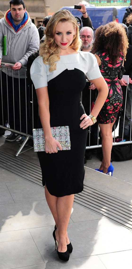 Catherine Tyldesley At Tric Awards At The Grosvenor House Hotel Beach