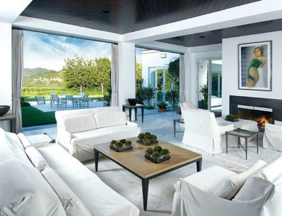 Celebrity Homes Interior Luxury Celebrity Home Design At Beverly Hills House Contemporary