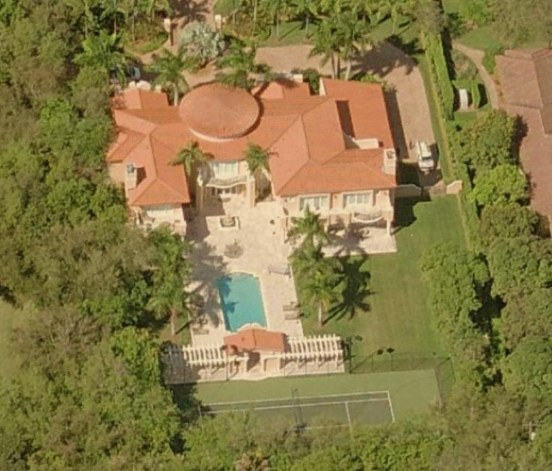 Lamar Odom House Pinecrest Florida