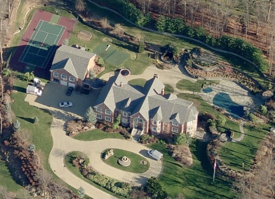 Sean Combs Home New Jersey Celebrity Houses