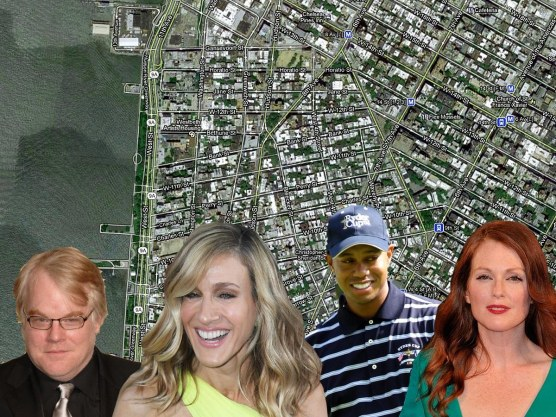 See Where Celebrities And Big Shots Live In Nycs West Village