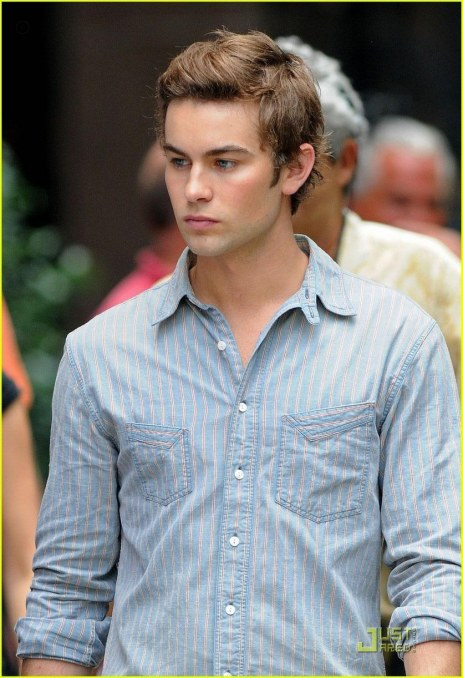 Chace Crawford Back Set Hair