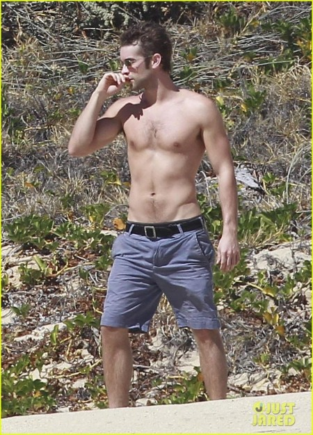 Chace Crawford Shirtless In Cabo Actors Shirt Off