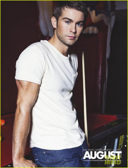 Chace In The Cover Spread For August Man September Issue Chace Crawford