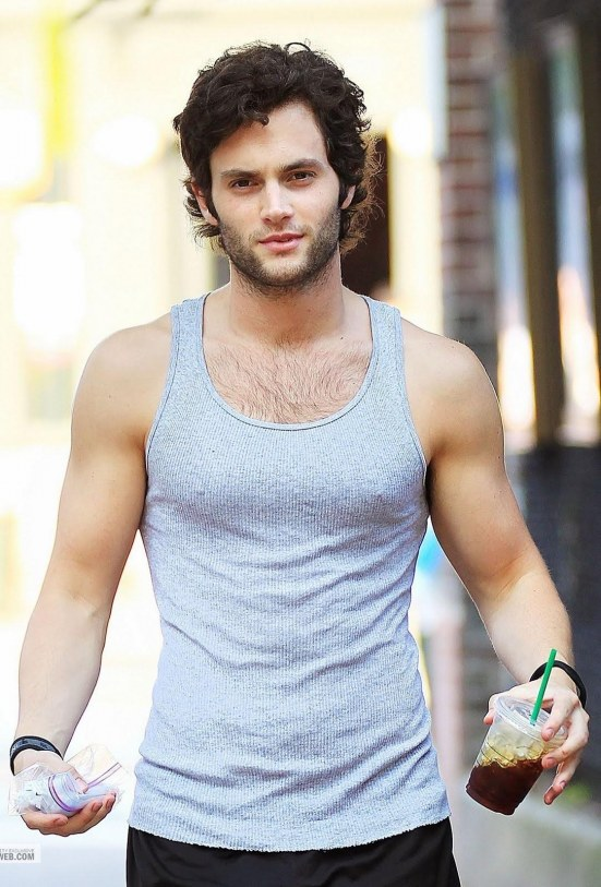 Penn Badgley Hairy Body