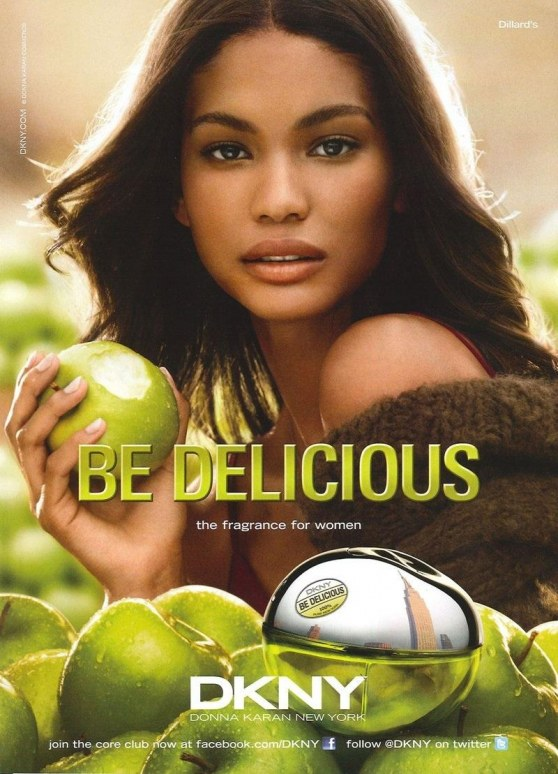 Chanel Iman Be Delicious Hot