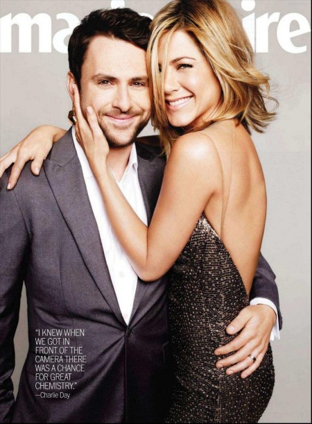 Marie Claire Us Jul Charlie Day Jennifer Aniston By Tesh