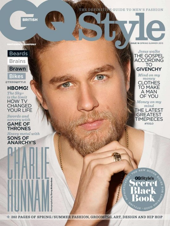 Charlie Hunnam Gq Style Cover Young