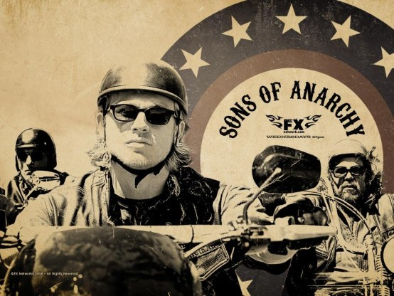 Charlie Hunnam In Sons Of Anarchy Wallpaper Sons Of Anarchy