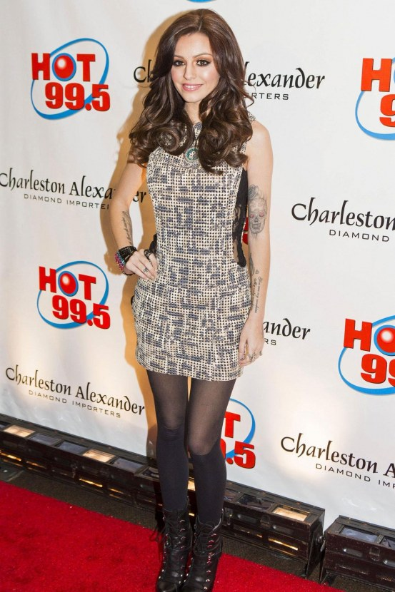 Cher Lloyd At The Hot Jingle Ball In Fairfax Hot