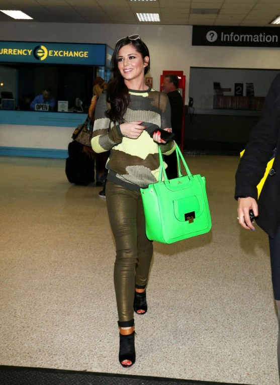 Cheryl Cole At Lax Airport In Los Angeles