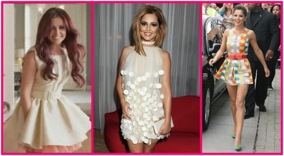 Cheryl Cole Retro Fashion