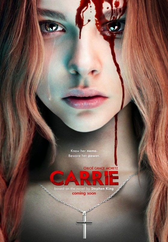Chloe Moretz As Carrie Remake Poster By Themadbutcher Uf Mm Hot