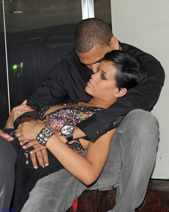 Rihanna And Chris Brown And Rihanna