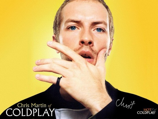 Coldplay Chris Martin Have You Never Been Yellow Wallpaper