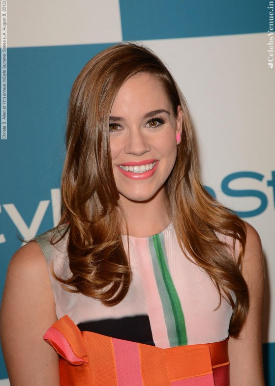 Christa Allen At Th Annual Instyle Summer Soiree La August Going On