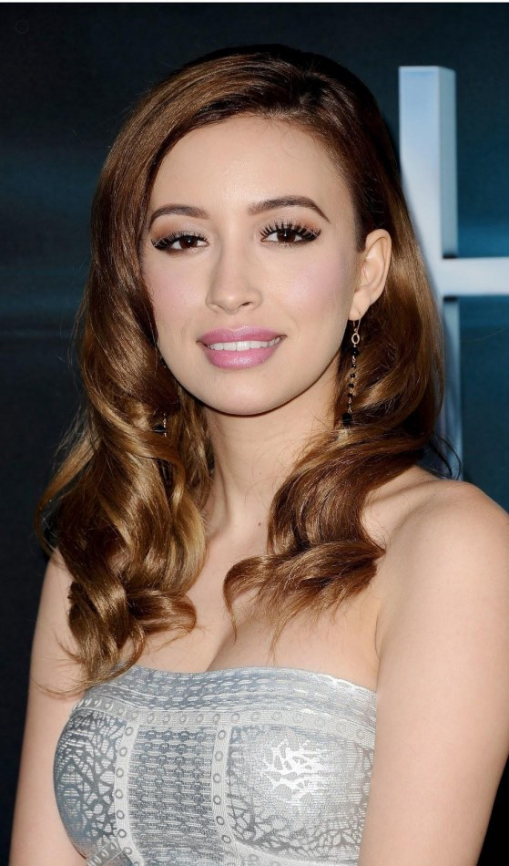 Christian Serratos The Host Premiere In Hollywood March