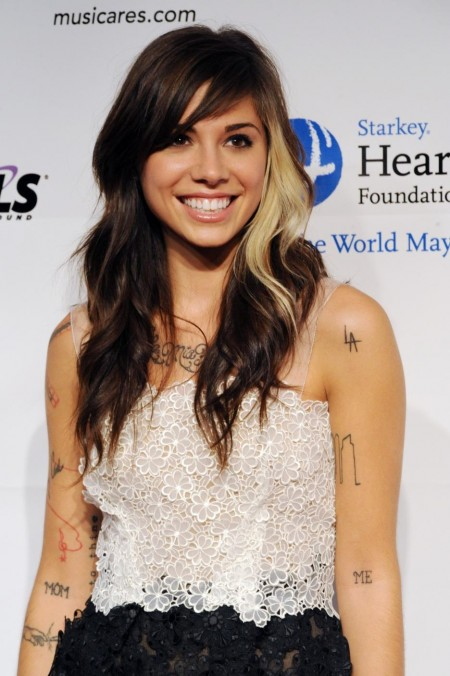 Christina Perri Arrives At Musicares Person Of Year Tribute Los Angeles