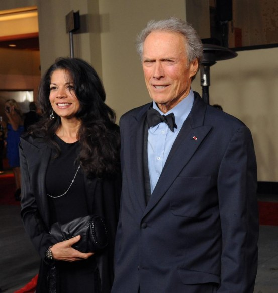Clint Eastwood Wife Dina Arrive At Dga Awards Los Angeles Wife