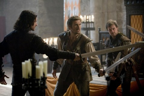 Richard Armitage Clive Standen And Jonas Armstrong In Robin Hood Bbc Large Picture Gawain