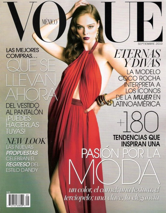 Coco Rocha By Tesh For Vogue Mexico September Cover Fat